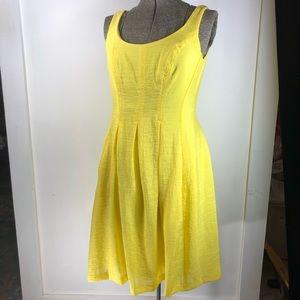 NWT Lemonade Yellow Nine West Pocket Dress Dahl